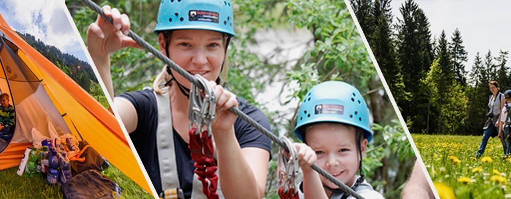 In eurer Familie erstreckt sich der Pioniergeist von den Zehen bis in die Haarspitzen? Ihr würdet gerne gemeinsam mit euren Kindern klettern lernen, eure Orientierungsfähigkeit austesten oder in der Allgäuer Wildnis auf Spurensuche gehen? Dann bewerbt euch jetzt für einen der 3 Plätze im Marmot Family Camp im Kleinwalsertal, vom 2. bis 5. Juni 2017.